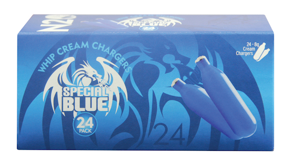 1 Box of 24 Special Blue 8gm Chargers