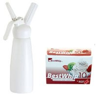 Kitchen Whip Tall 1PT / 500ml + 4 Best Whip 10
