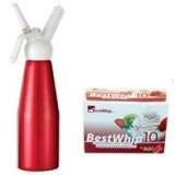Kitchen Whp Grande 1QT / 1L + 4 Best Whip 10