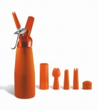Orange Suede Series  1/2 Pint Whip Cream Dispenser